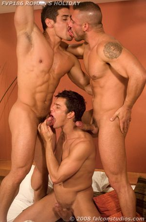 Pedro Andreas, Daniel Marvin and Roman Heart