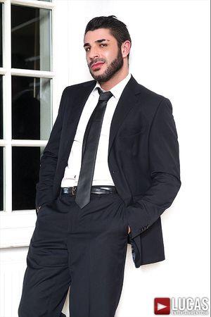 Raul Korso Swallows Max Toro's Cock Before Bareback Sex