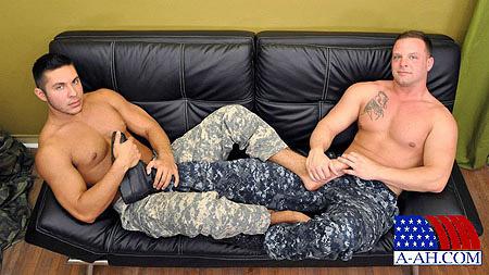 Navy Corpsman Logan Fucks Private Seth