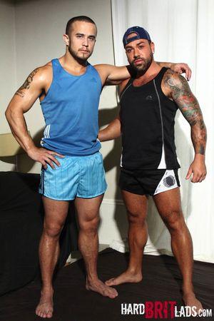 Alex Graham and Sergi Rodriguez