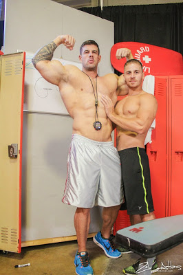Zeb Atlas and Logan Vaughn