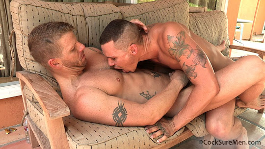 Tate Ryder and Jeremy Stevens