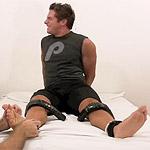 Super Ticklish Hunk Marky Destroyed By Tickling