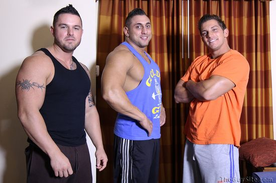 Marky, Mario, Ronnie at The Guy Site