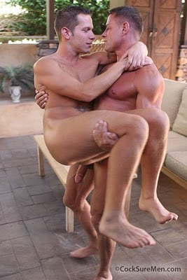 Tyler Saint and Shane Frost