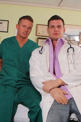 Hayden Richards and Tory Mason