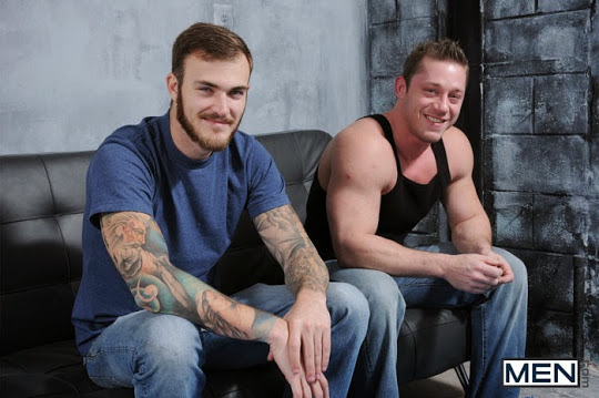 Christian Wilde and Joey Carter
