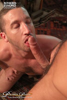 Damien Stone and Tony Hunter
