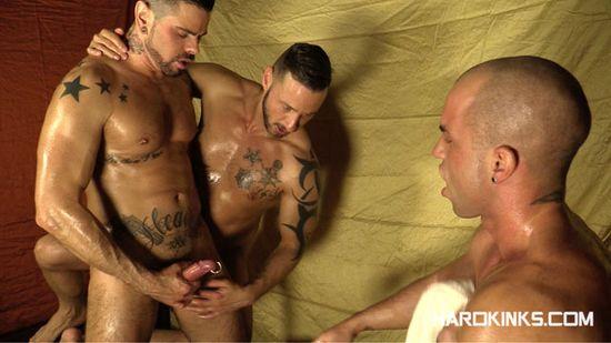 Antonio Aguilera, Antonio Miracle, Mario Domenech