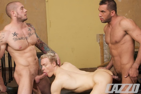 Harley Everett, Sergi Serrano & Aaron Mark