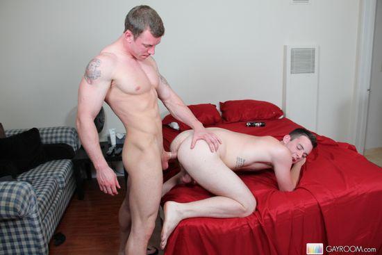 Patrick Hunter and Adam Hardy