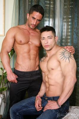 Julio Rey and Robin Sanchez