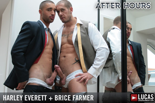 Harley Everett and Brice Farmer