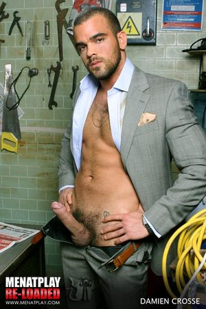 Brocky Brown and Damien Crosse in The Mechanic