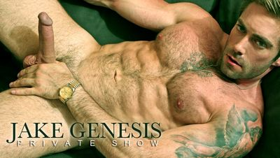 Jake Genesis in Private Show