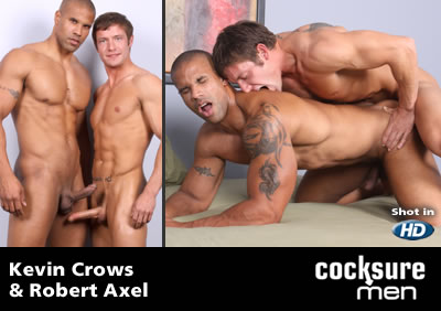 Kevin Crows and Robert Axel