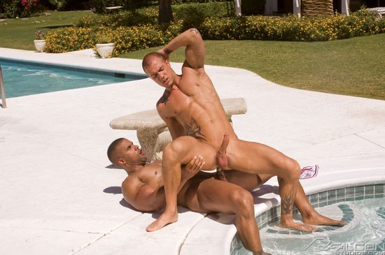 Robert Axel and Rod Daily in Dripping Wet 3, Scene 4