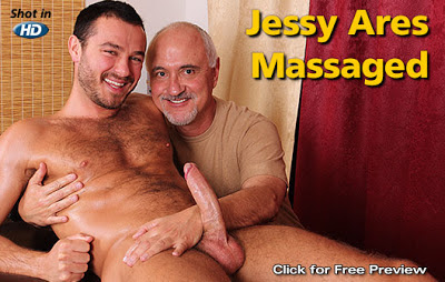Jessy Ares Massaged
