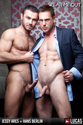 Hans Berlin Services Jessy Ares for a Raise