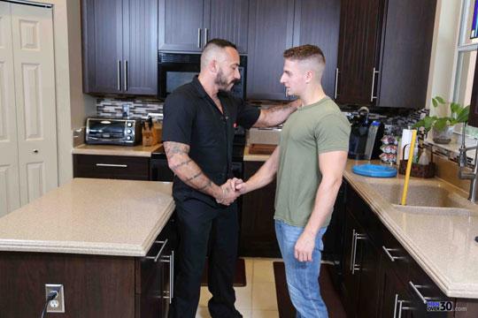 Alessio Romero and Logan Vaughn
