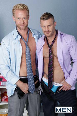 Christopher Daniels and Landon Conrad