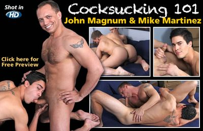 John Magnum and Mike Martinez
