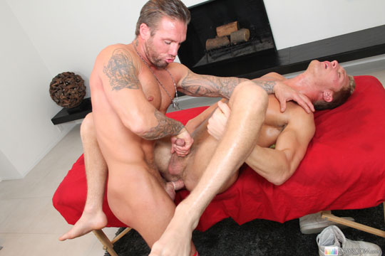 Gavin Waters and Bo Dean