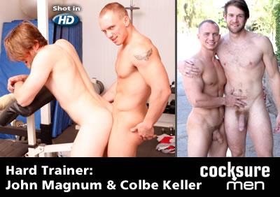 John Magnum and Colby Keller