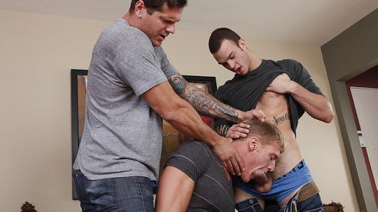 Gavin Waters, Parker London, Cliff Jensen