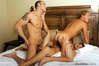 Spencer Reed, Gavin and Noah River