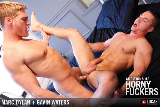 Gavin Waters Hammers Muscle-Bottom Marc Dylan