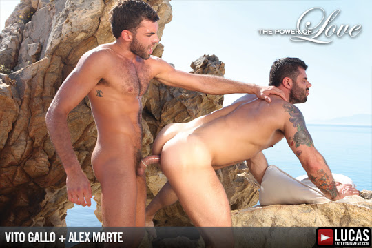 Vito Gallo and Alex Marte Romance One Another