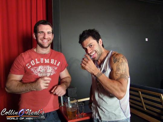 Josh Harris and Rogan