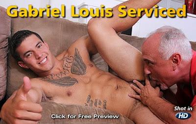 Gabriel Louis Serviced