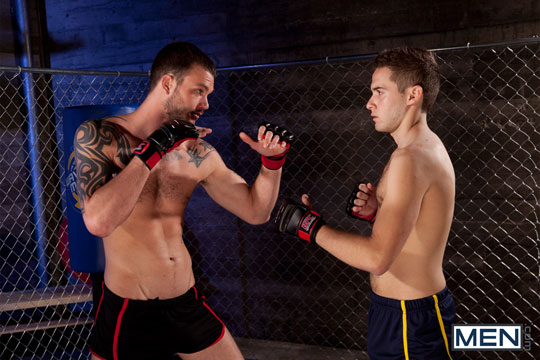 Cliff Jensen and Ethan Cruz