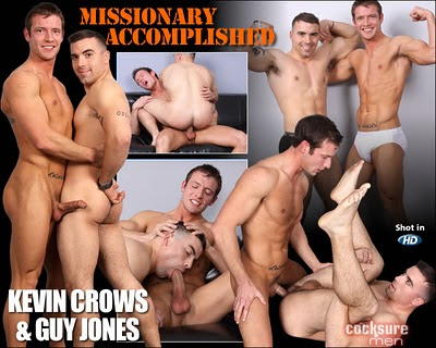 Kevin Crows and Guy Jones