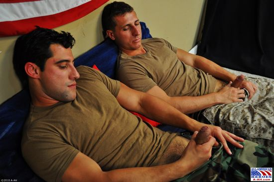 Petty Officer Nick and Private First Class Roman