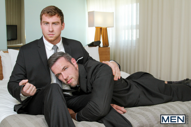 Alex Mecum and Connor Maguire in The Concierge Part 2 2