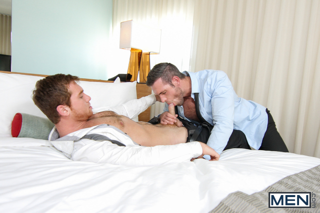 Alex Mecum and Connor Maguire in The Concierge Part 2 11