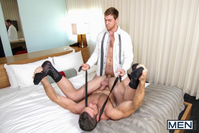 Alex Mecum and Connor Maguire in The Concierge Part 2 15