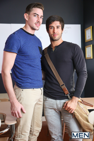 2 Diego Sans and Jack Hunter in Straight A Student Part 1