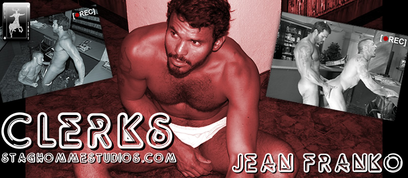 Jean Franko and Francesco DMacho in Clerks