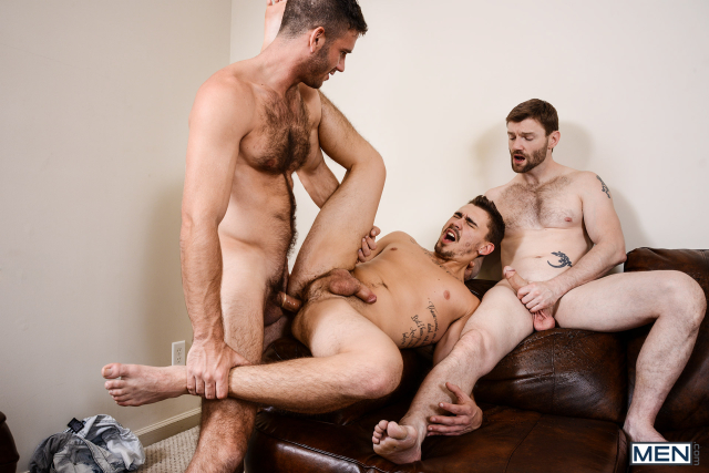 23 Asher Hawk, Dennis West, and Jimmy Fanz in Naughty Boys Part 3