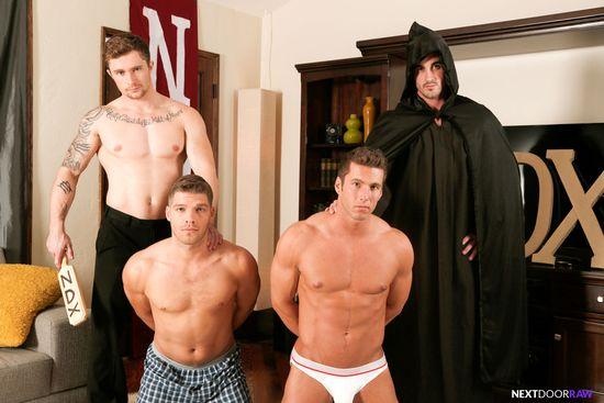 Derrick Dime, Bridger Watts, Rod Peterson, Markie More in Becumming Brothers_02