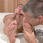 07 Staff Sergeant Tristan Has His Socks and Feet Worshiped
