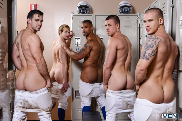 14 Adam Bryant, Cameron Foster, Darin Silvers, Phenix Saint, Robert Axel in Football DL Part 3