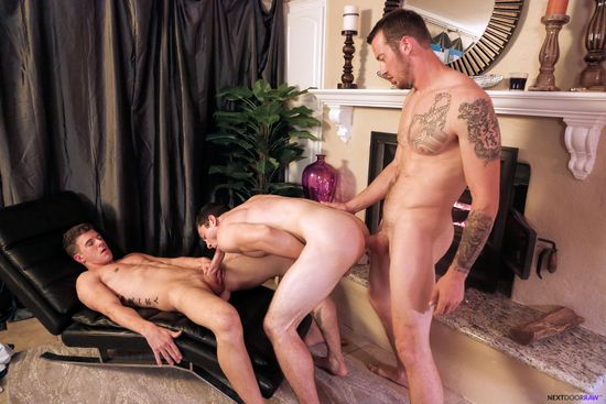 63985_13 JJ Knight, Mark Long, Johnny Riley in Double Playtime