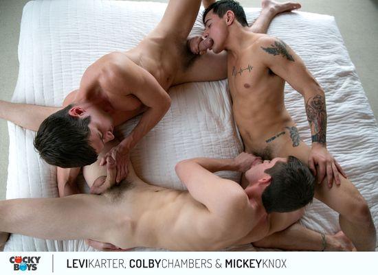 IMG_0983 Colby Chambers & Mickey Knox Tag Levi Karter!