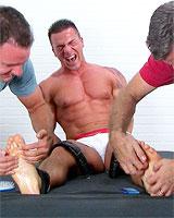Braden Charron Tickled Naked