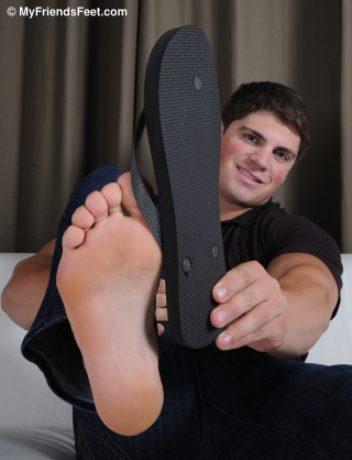 Dominic's Flip Flops and Size 12 Feet_021